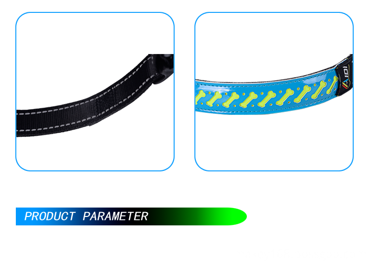 Flashing Safety Dog Collar