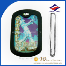 Decorative new custom desgin human golfball games dog tag