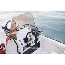 Pare-brise de bateau acrylique