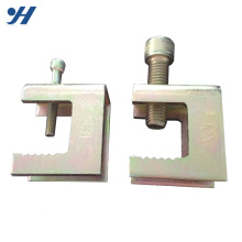 Corrosion Resistant 100Mm Galvanized Rail Clamp Saddle For PVC Pipe