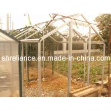 Aluminio / perfil de aleación de aluminio Forsun Porche de aluminio Sunroom Glass House