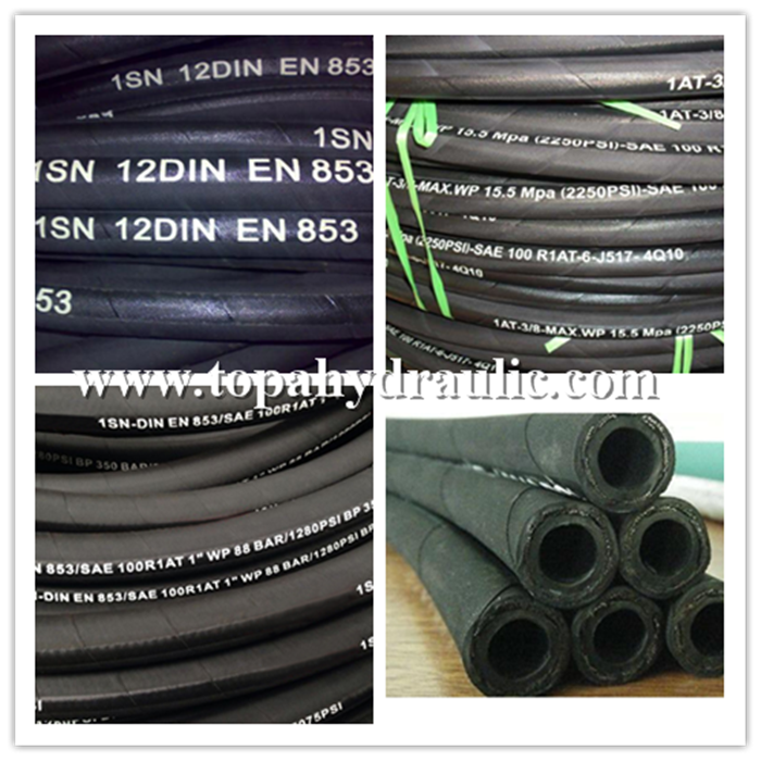 High pressure air water hydraulic fleaible pump hose