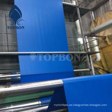 Lona impermeable impermeable del PVC para cubrir Tb0017