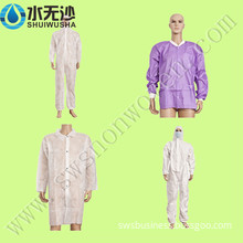 Disposable PP SMS Lab Coat