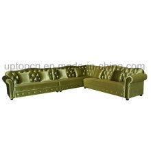 Elegant Bar Booth Sofa with Wooden Fram (SP-KS325)