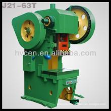 Máquina de la prensa del sacador para el aluminio J21-63T