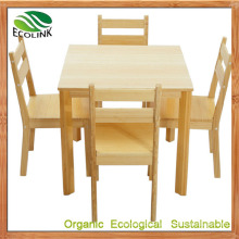 Bamboo Dining Table and Chair Set