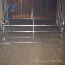 Barrière de bovins à la ferme Australian Standard 5 Bar