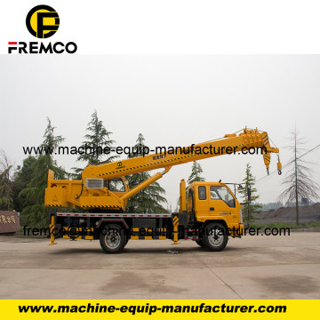 Double Winch Truck Mounted Crane with Favorable Price