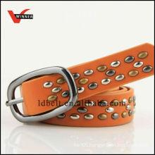 Popular shiny lady leather belt