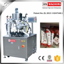 Enchimento de tubo de pasta de pimentão e máquina de selagem