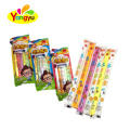 Cute gift long stick health natural assorted jelly candy