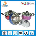 Chiness stainless steel non-stick woks