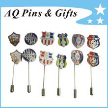 Goupille de bâton en métal pour le club de football comme cadeau promotionnel (badge-222)