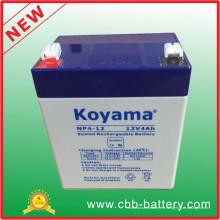 Batería del plomo AGM de 12V 4ah para la seguridad, vespa