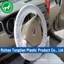 Couvercle de volant en plastique jetable d'accessoires intérieurs d'automobile