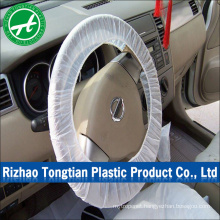 Automobile interior accessories disposable plastic steering wheel cover