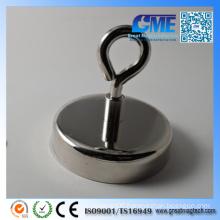High-Quality Diameter 75 X14 Total Height 28mm NdFeB Pot Magnets