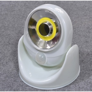 Patent 180 degrees rotating led motion sensor lights