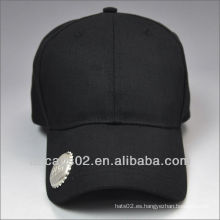 Hebilla de metal de vuelta gorras de béisbol