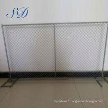Usine de clôture temporaire en acier bon marché pour les enfants de la route en acier bon marché