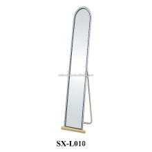 Главная Большая длинная металлическая зеркало для стояния на пол для продажи