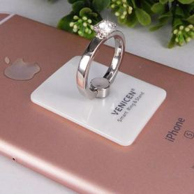 Fashion diamond phone finger ring