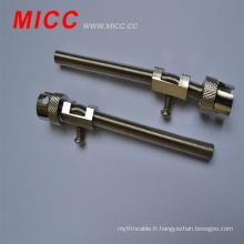 Accessoire thermocouple MICC / thermocouple à ressort et baïonnette