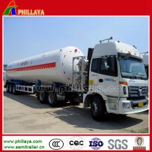 Semi tanque de armazenamento do LPG LNG CNG do aço carbono do reboque
