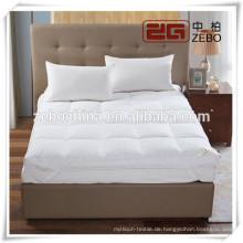 233T Down Proof Cover mit Microfaser Füllung Soft Hotel Matratzenschutz
