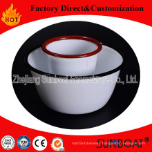 15cm Enamel Bowl/Kitchenware High Quality/Enamel Food Dishes