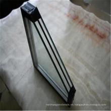 Vidrio de ventana barato, vidrio en línea, vidrio aislante para los edificios
