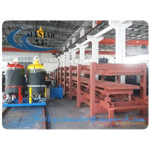 Discontinuous Polyurethane/PU Sandwich Panel Forming Machine