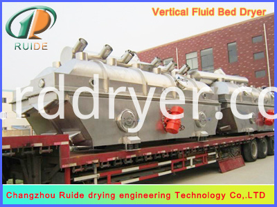 Vibrating Fluid Bed Drier for Raising Material Damp