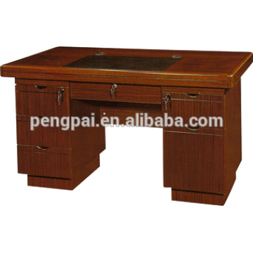 antique design new model office table with side desk