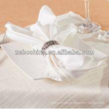 Los diversos colores de la alta calidad colorean la servilleta al por mayor de la materia textil de la tabla del algodón