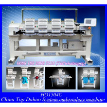 Four Head T-Shirt Cap Embroidery Machine /Used Programmable Computerized Embroidery Machine