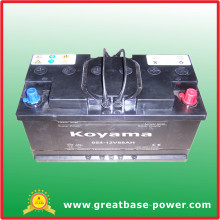 654-12V88ah Dry Cell Moto Battery