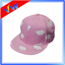 Blank Cloud Pattern 6 Panels Snapback Cap