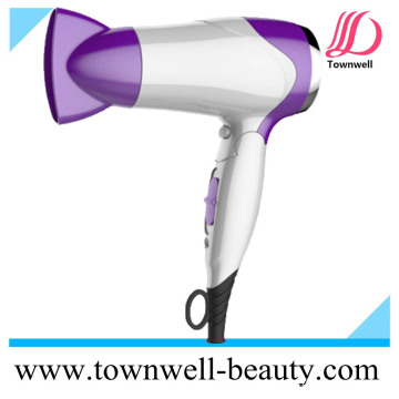 Travelling Mini Foldable Ionic Hair Dryer Witch Cool Shot Function, and Ce Certificate