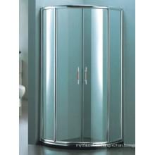 Gabinete de aluminio de los accesorios sanitarios Gabinete simple de la ducha (H007D)