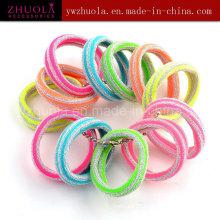 Acessórios de cabelo elástico de nylon suave para meninas