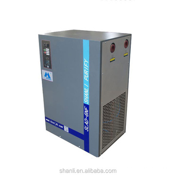 Freeze gas dryers for air compressor with dew point display
