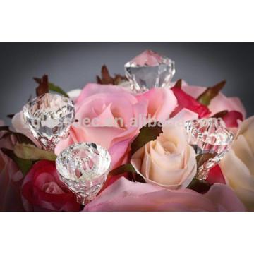 Piedra de hielo de acrílico vendedora caliente para la boda o la decoración del partido