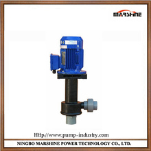 Vertical no leakage corrosion-resistant centrifugal pump