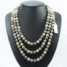 Three Strand Bulk Faux Pearl Necklaces