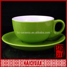 220ml coffee cup and saucer set white ceramic cup and saucer set ceramic kitchen tableware