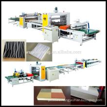 Honeycomb door laminating machine / Film laminating machine