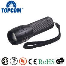Q5 lampe torche LED lampe zoom Zoom Mini lampe de poche 300 Lumen avec batterie AAA