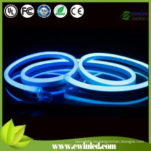 Azul Emitting Color LED Neon Flex cuerda luz
